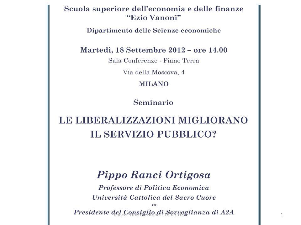 Ranci - Liberalizzazioni - 18-09-20121