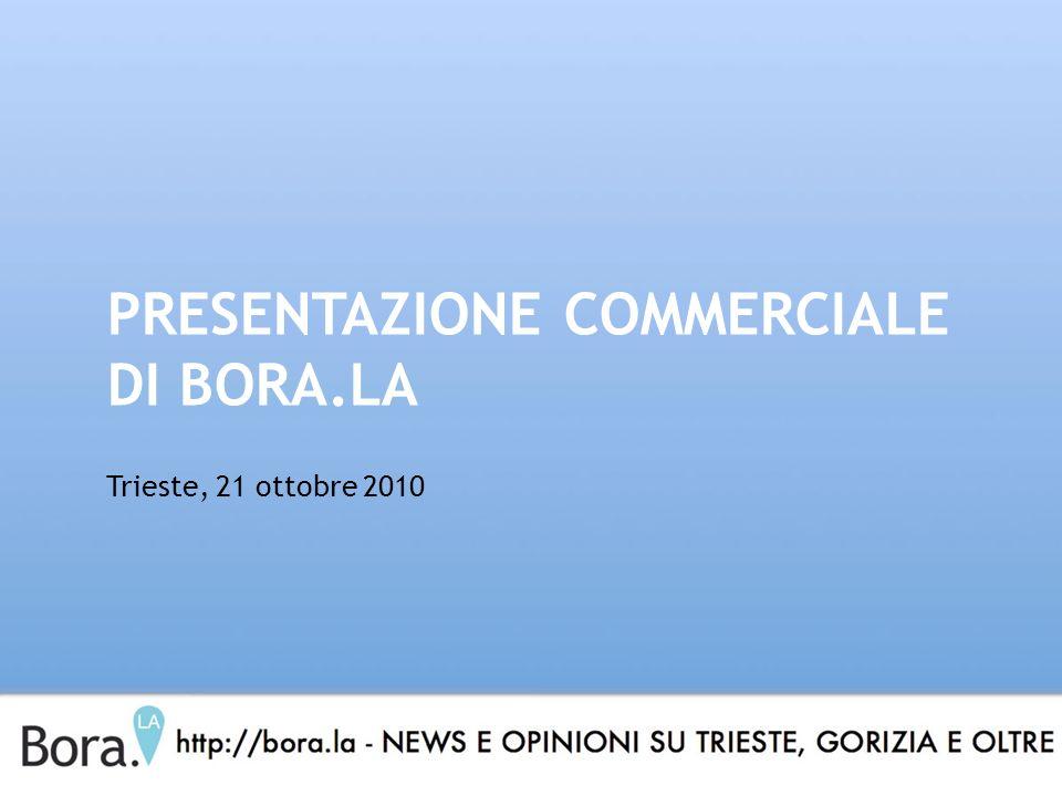 PRESENTAZIONE COMMERCIALE DI BORA.LA Trieste, 21 ottobre 2010