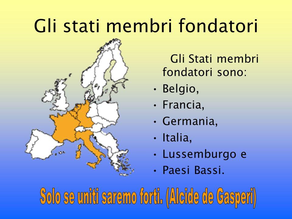 La nascita della CEE Visto il successo del trattato sul carbone e lacciaio, i sei paesi decisero di estendere la cooperazione ad altri settori economici.