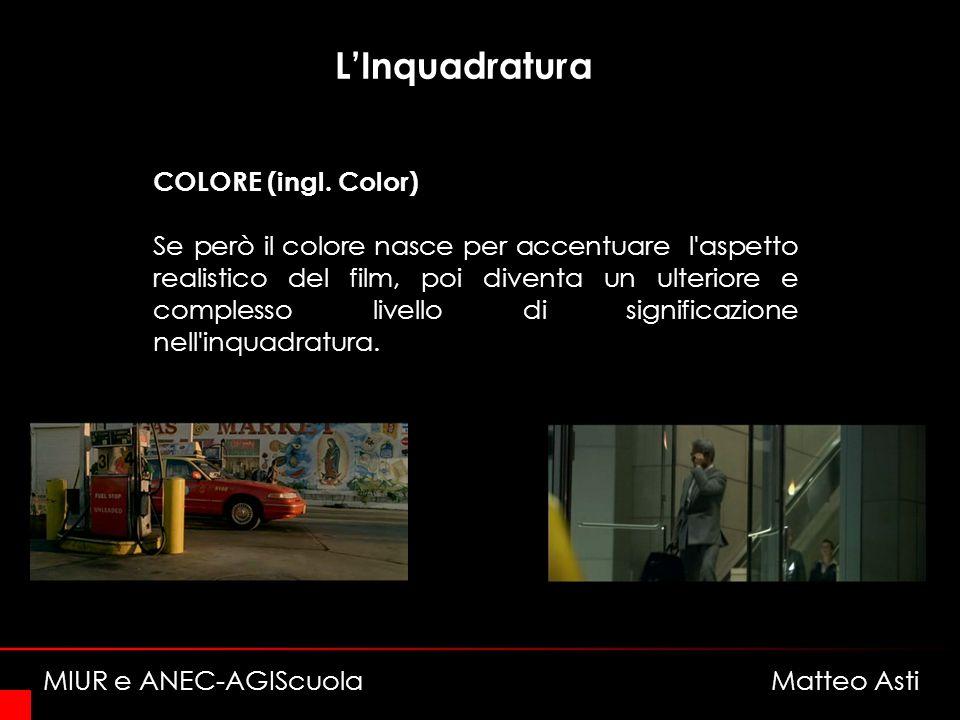 LInquadratura COLORE (ingl.