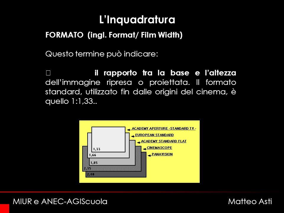 LInquadratura FORMATO (ingl.