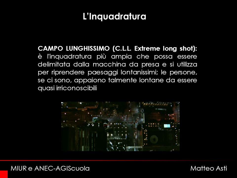 LInquadratura CAMPO LUNGHISSIMO (C.L.L.