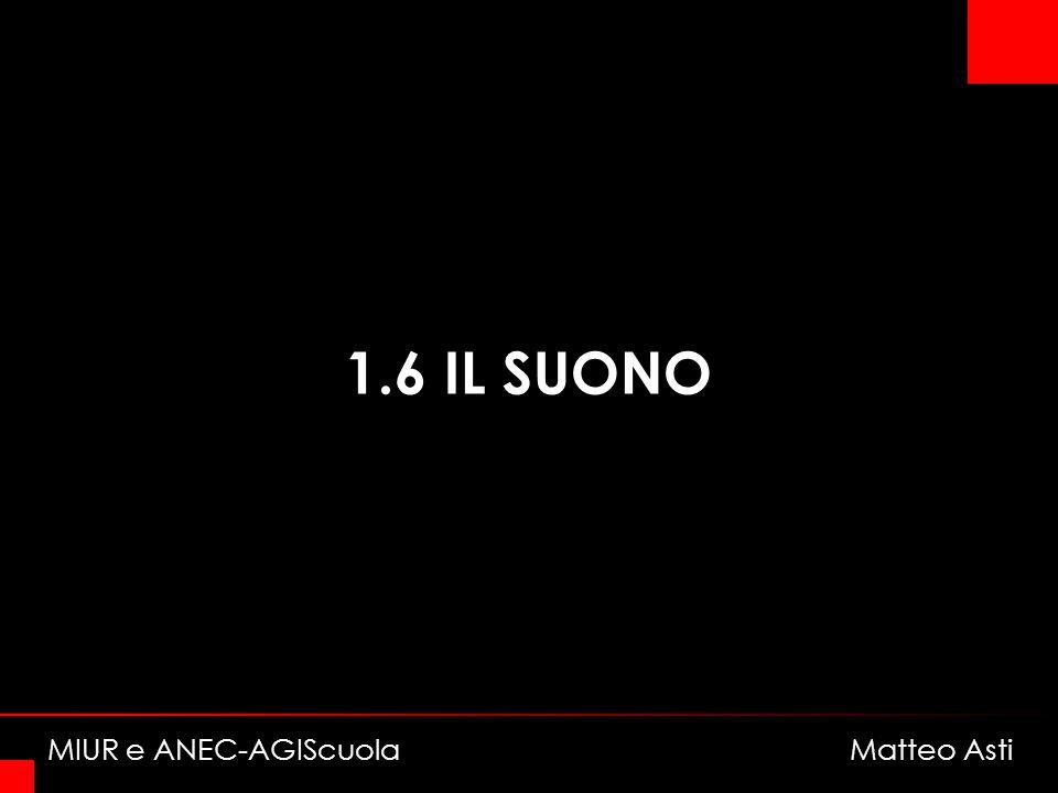 1.6 IL SUONO MIUR e ANEC-AGIScuola Matteo Asti