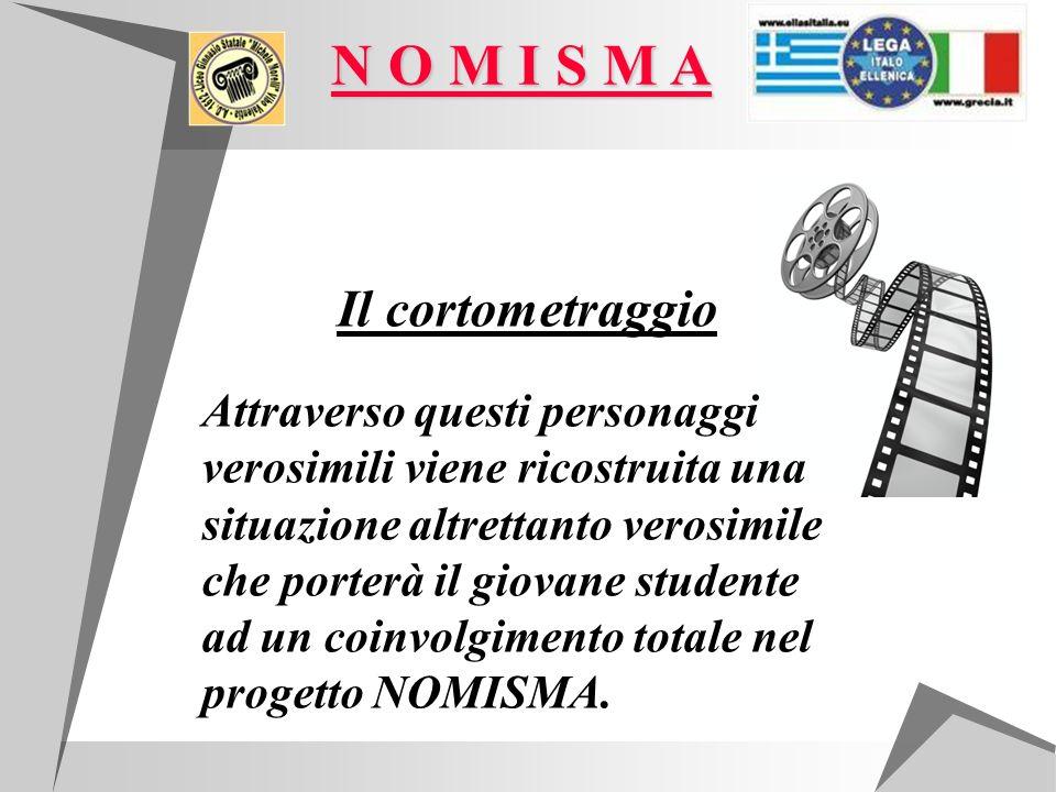 Il cortometraggio Attraverso questi personaggi verosimili viene ricostruita una situazione altrettanto verosimile che porterà il giovane studente ad un coinvolgimento totale nel progetto NOMISMA.