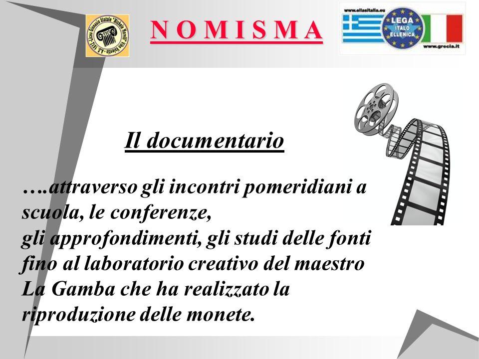 Il documentario ….attraverso gli incontri pomeridiani a scuola, le conferenze, gli approfondimenti, gli studi delle fonti fino al laboratorio creativo