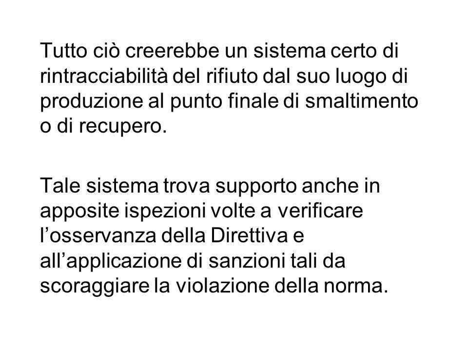ITALIA DLGS 182/2003 Attuazione della Direttiva 2000/59/CE relativa agli impianti portuali di raccolta per i rifiuti prodotti dalle navi ed i residui del carico Ambito di applicazione: a tutte le navi, compresi i pescherecci e le imbarcazioni da diporto (a prescindere dalla loro bandiera) che fanno scalo in un porto dello Stato.