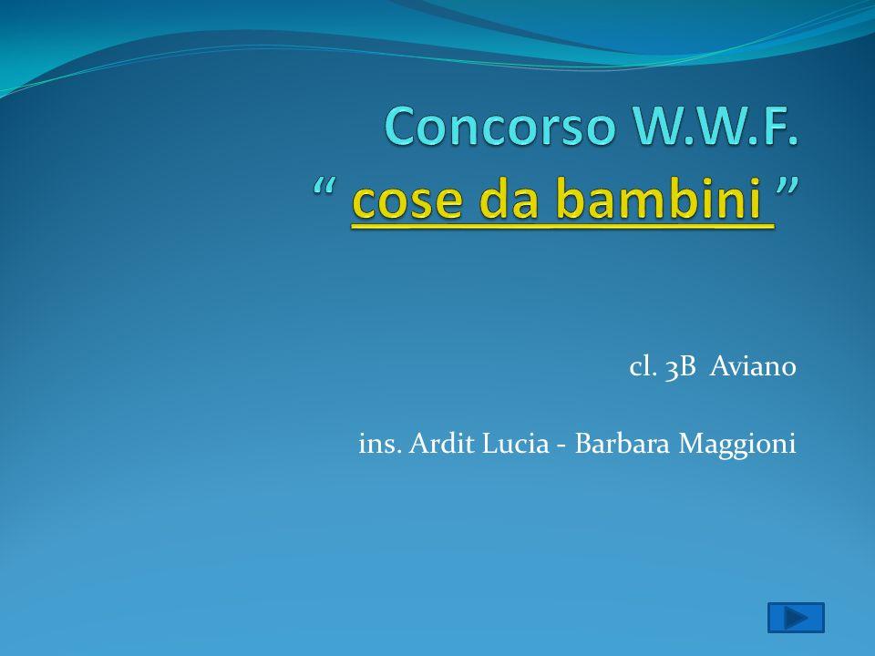 cl. 3B Aviano ins. Ardit Lucia - Barbara Maggioni
