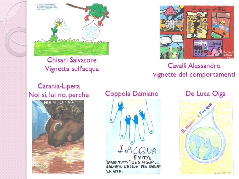 Catania-Lipera Noi si, lui no, perchè Cavalli Alessandro vignette dei comportamenti Chisari Salvatore Vignetta sull'acqua Coppola Damiano De Luca Olga
