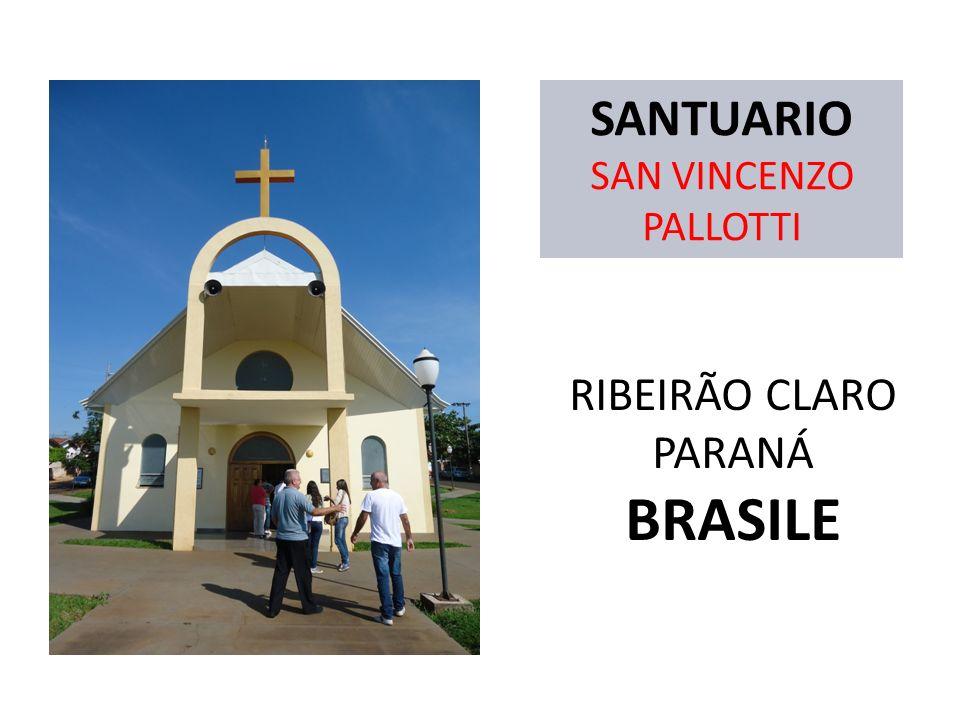 SANTUARIO SAN VINCENZO PALLOTTI RIBEIRÃO CLARO PARANÁ BRASILE