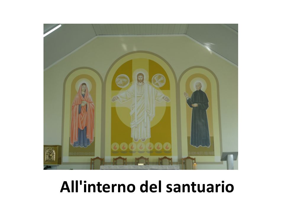All interno del santuario
