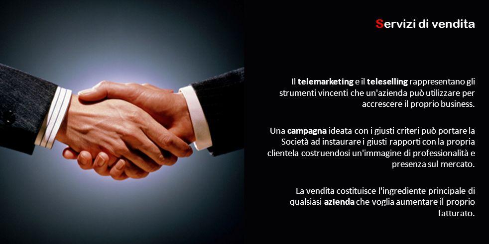 Il telemarketing e il teleselling rappresentano gli strumenti vincenti che un'azienda può utilizzare per accrescere il proprio business. Una campagna