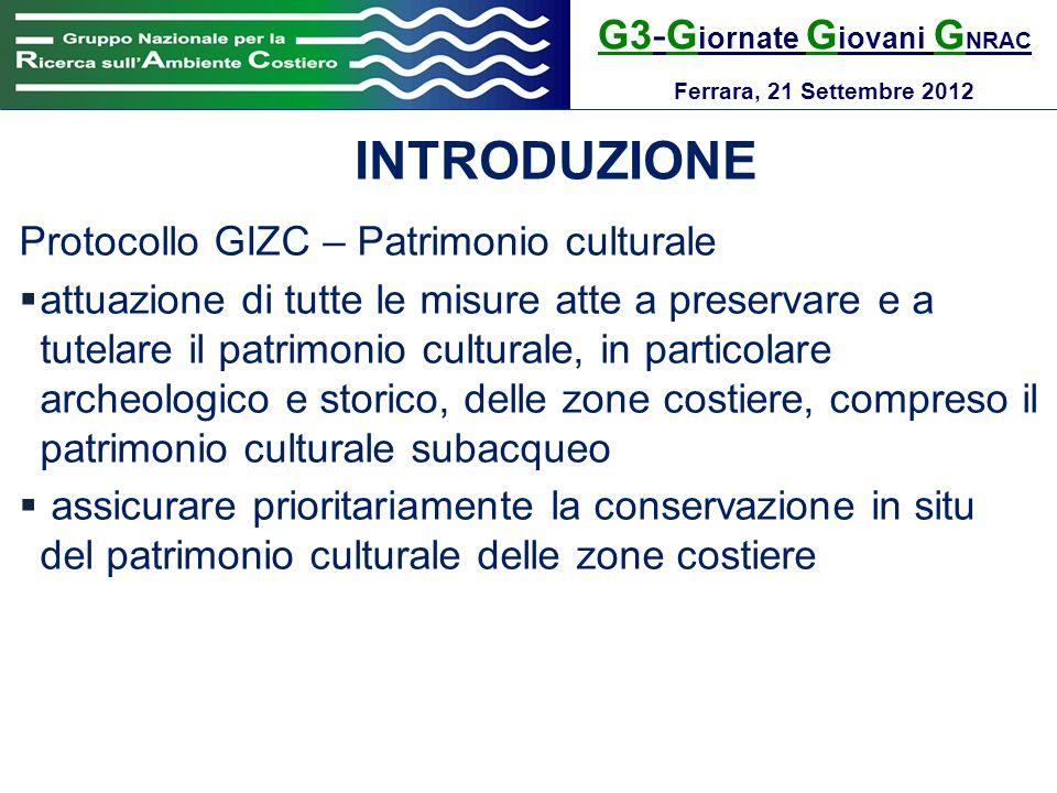 G3-G iornate G iovani G NRAC Ferrara, 21 Settembre 2012 RISULTATI processo di partecipazione (Capo Figari – Golfo Aranci)