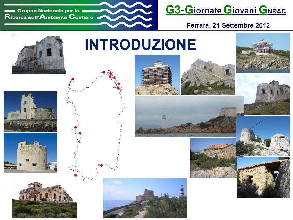 G3-G iornate G iovani G NRAC Ferrara, 21 Settembre 2012 RISULTATI Capo Figari (Golfo Aranci) anno di costruzione:1905