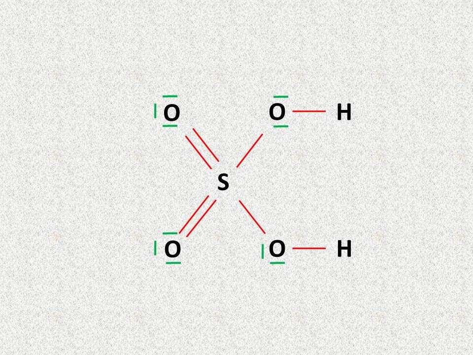 HNO 3 Elettroni di valenza: H =1 ; N= 5 O = 6 O = 6 Totale elettroni = 24 24/2= 12