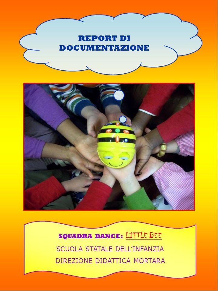 REPORT DI DOCUMENTAZIONE SQUADRA DANCE: LITTLE BEE SCUOLA STATALE DELLINFANZIA DIREZIONE DIDATTICA MORTARA