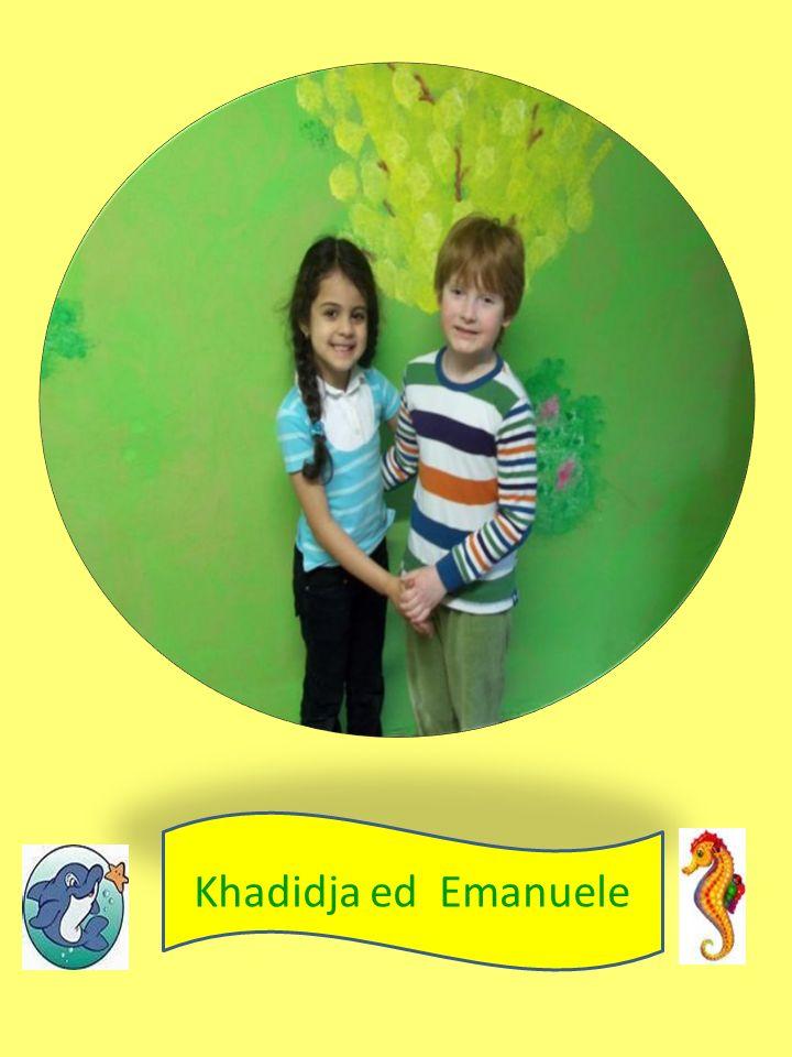 Khadidja ed Emanuele