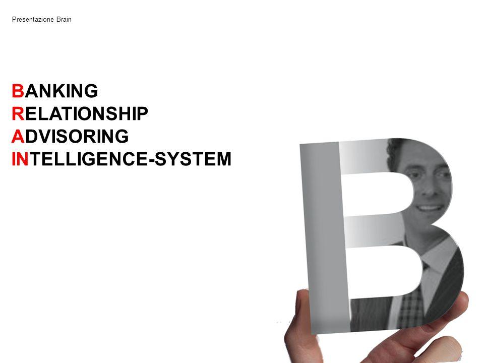 Presentazione Brain BANKING RELATIONSHIP ADVISORING INTELLIGENCE-SYSTEM