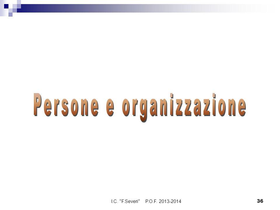 1° Collaboratore Prof.Franchi Massimo I.C. F.Severi P.O.F.