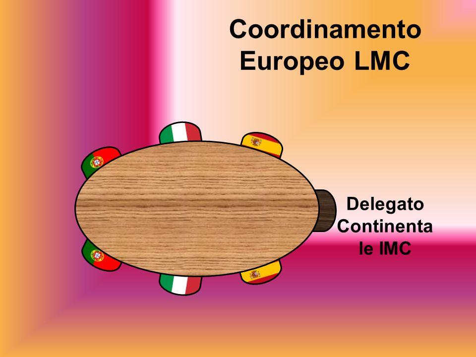 Coordinamento Europeo LMC Delegato Continenta le IMC
