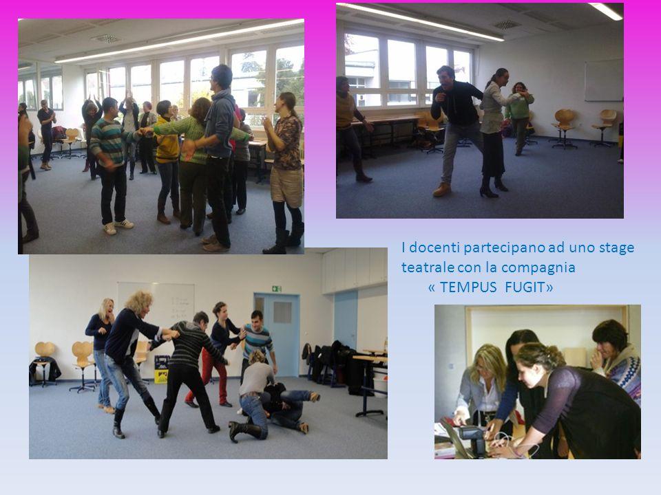 I docenti partecipano ad uno stage teatrale con la compagnia « TEMPUS FUGIT»