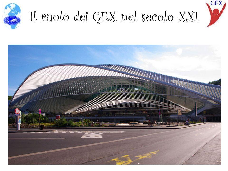 Il ruolo dei GEX nel secolo XXI
