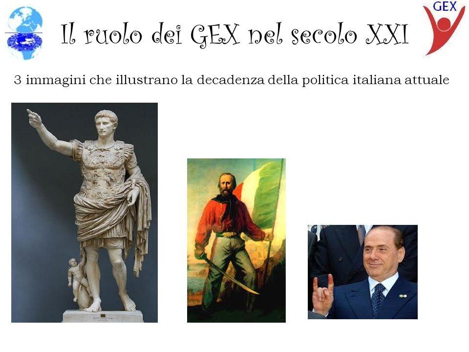 Il ruolo dei GEX nel secolo XXI E in una maniera un po piu comica...