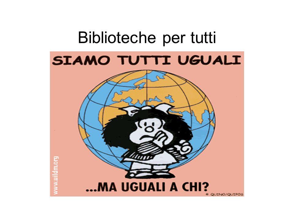Biblioteche per tutti