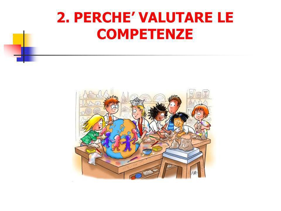 2. PERCHE VALUTARE LE COMPETENZE