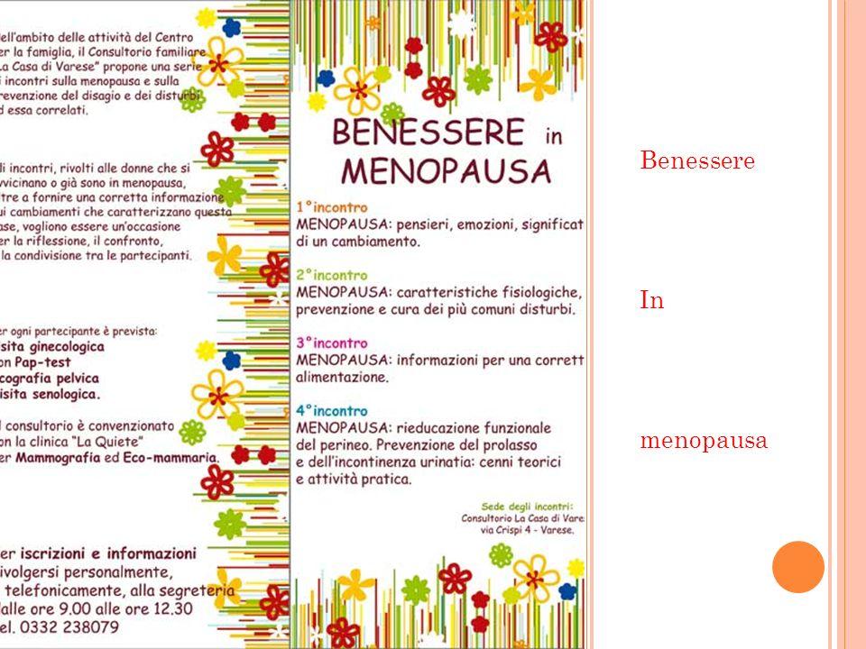 Benessere In menopausa