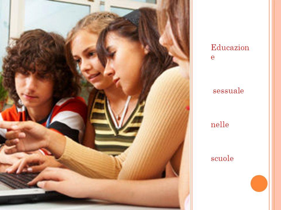 Educazion e sessuale nelle scuole
