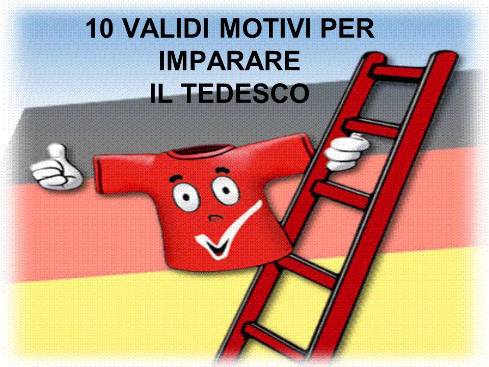 10 VALIDI MOTIVI PER IMPARARE IL TEDESCO