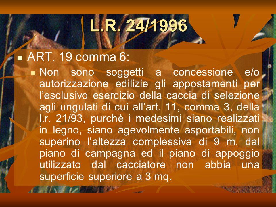 L.R.24/1996 ART.