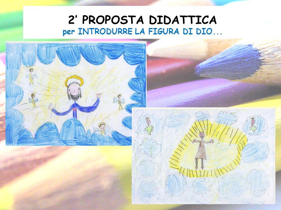2 PROPOSTA DIDATTICA per INTRODURRE LA FIGURA DI DIO...