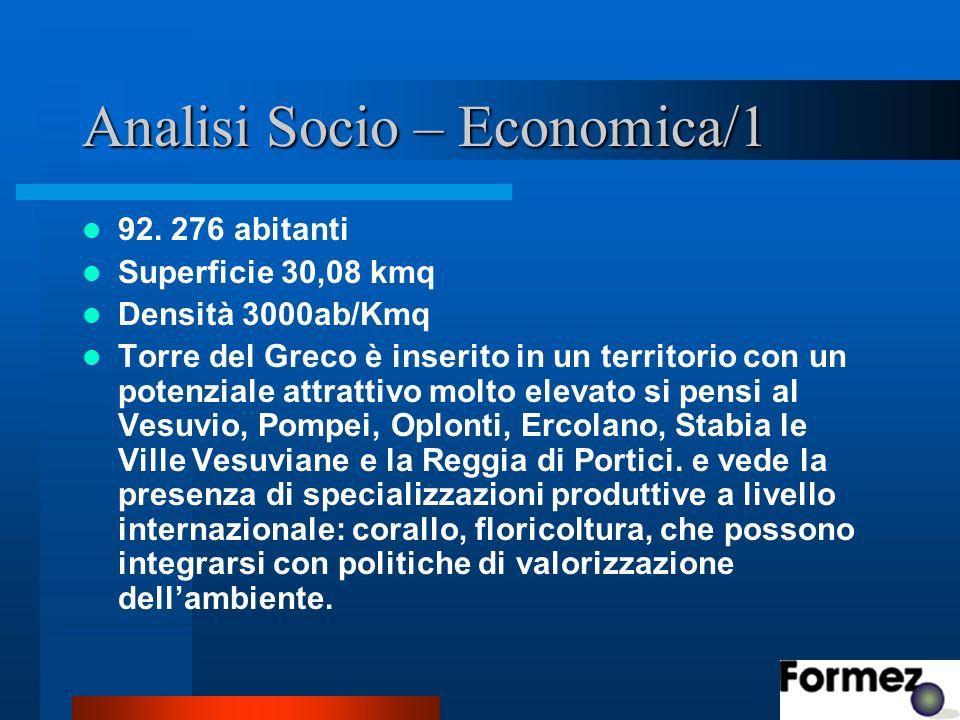 Analisi Socio – Economica/1 92.