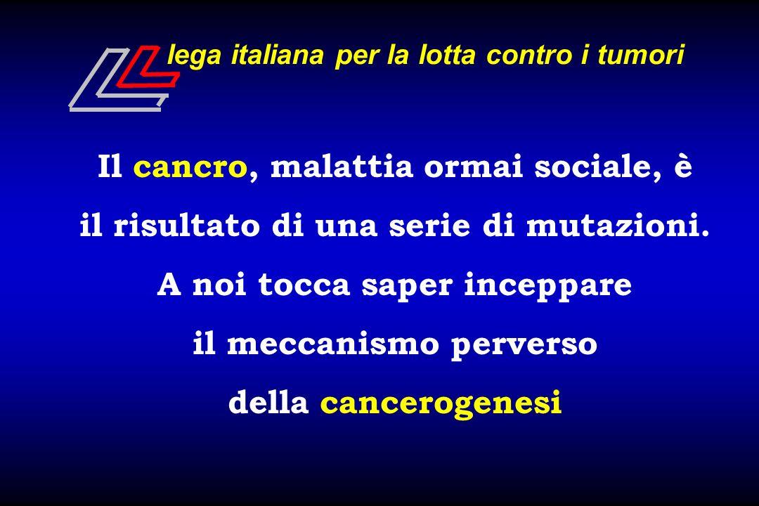 lega italiana per la lotta contro i tumori PROBLEMATICA SCIENTIFICA Università -- I.R.C.C.S.
