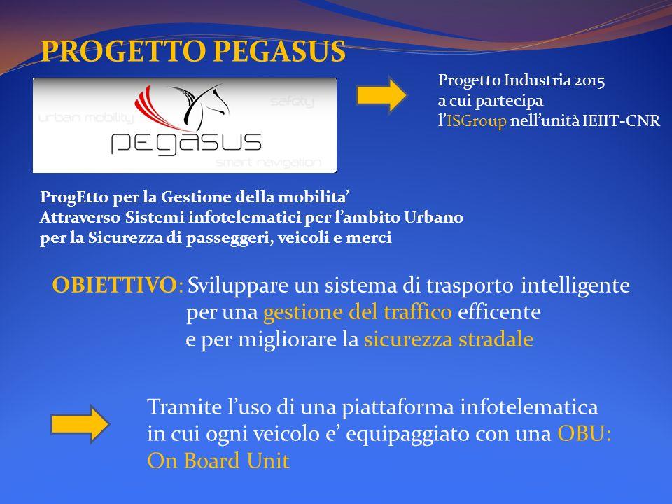 PROGETTO PEGASUS ProgEtto per la Gestione della mobilita Attraverso Sistemi infotelematici per lambito Urbano per la Sicurezza di passeggeri, veicoli