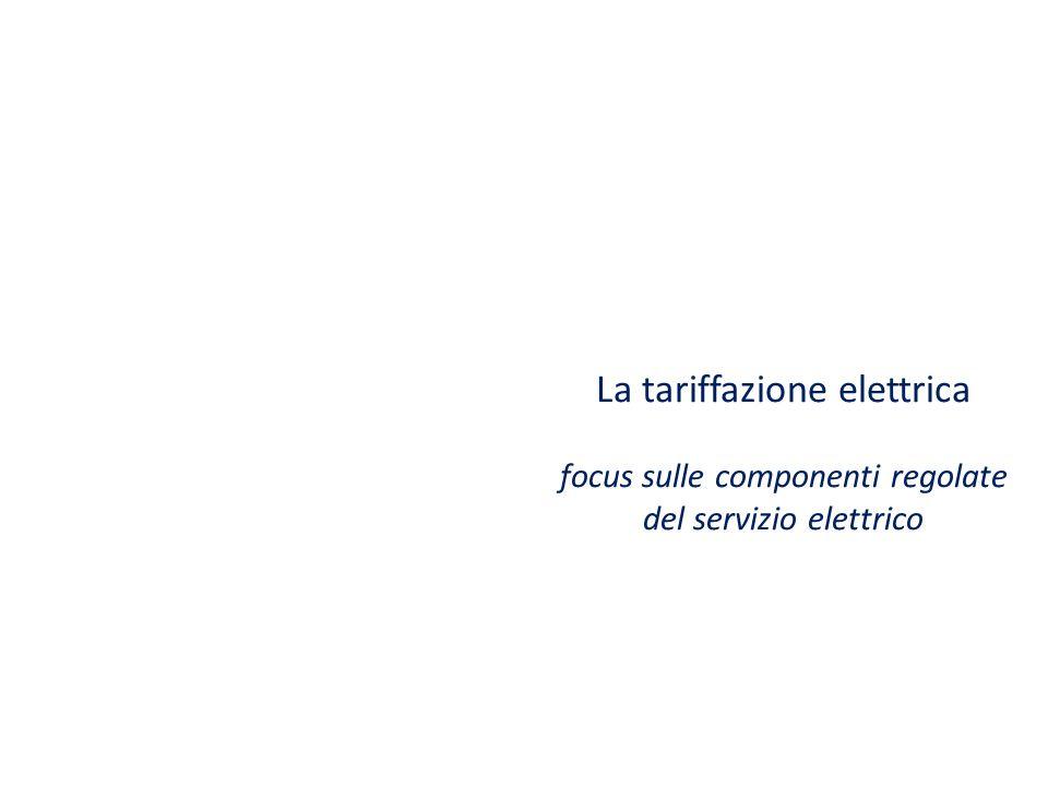 18 giugno 2013 La tariffazione elettrica focus sulle componenti regolate del servizio elettrico