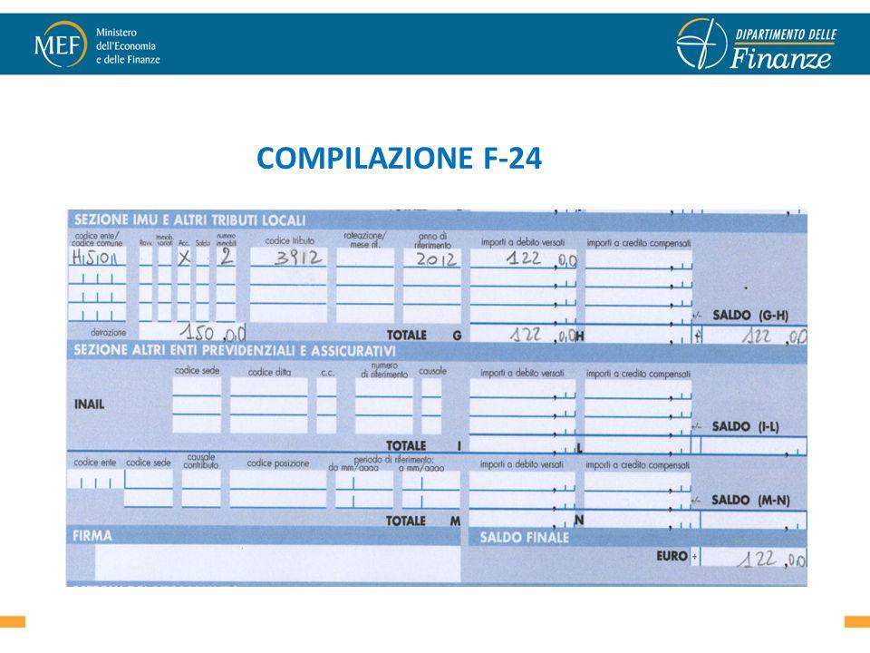 COMPILAZIONE F-24 28