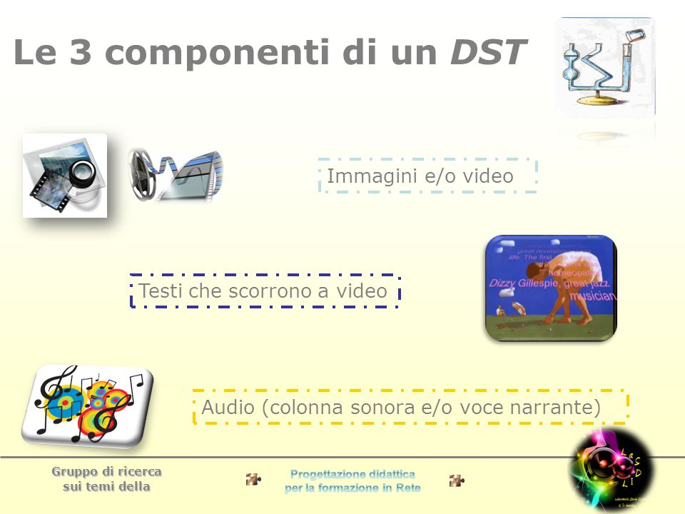 Gruppo di ricerca sui temi della 7 passi per realizzare un DST