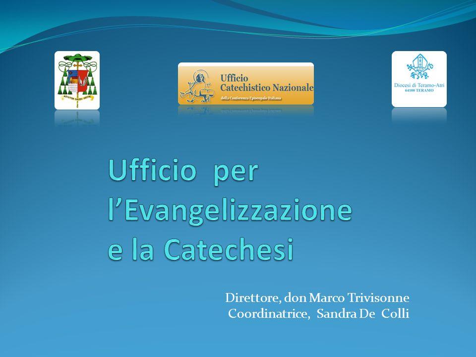 Formazione foraniale LUfficio collabora e sostiene le attività di evangelizzazione e catechesi della Diocesi, delle Foranie e delle Parrocchie.