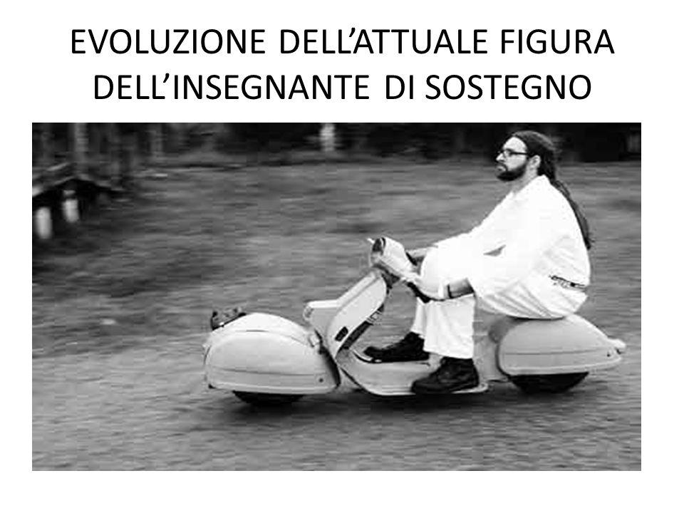 EVOLUZIONE DELLATTUALE FIGURA DELLINSEGNANTE DI SOSTEGNO