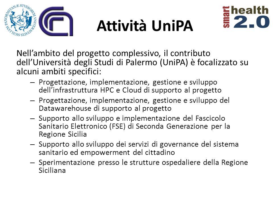 Attività UniPA Nellambito del progetto complessivo, il contributo dellUniversità degli Studi di Palermo (UniPA) è focalizzato su alcuni ambiti specifi