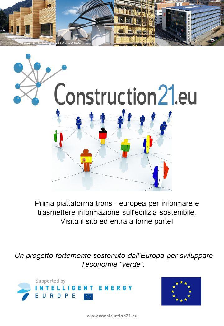 Un progetto fortemente sostenuto dall Europa per sviluppare l economia verde.