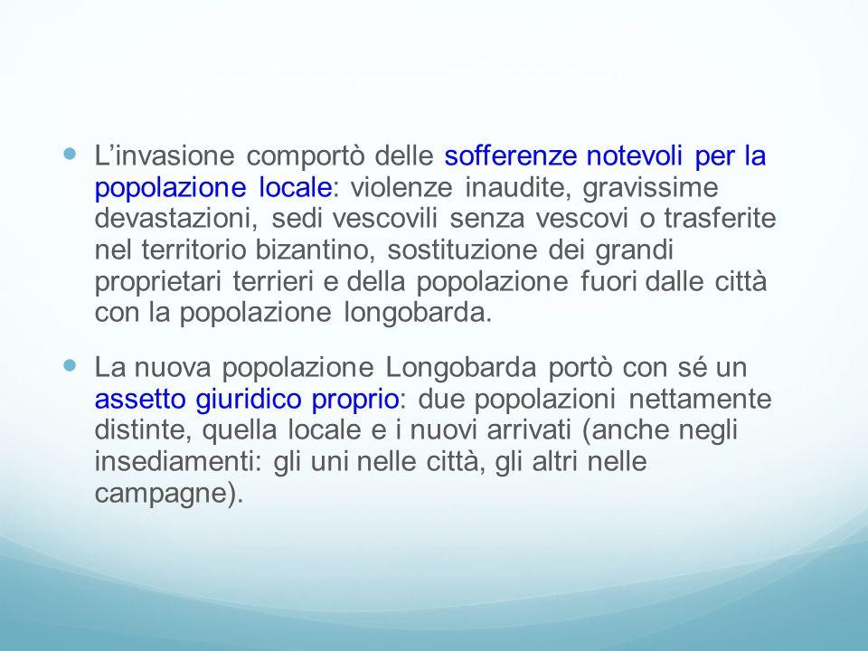 Linvasione comportò delle sofferenze notevoli per la popolazione locale: violenze inaudite, gravissime devastazioni, sedi vescovili senza vescovi o tr