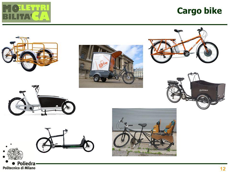 12 Cargo bike