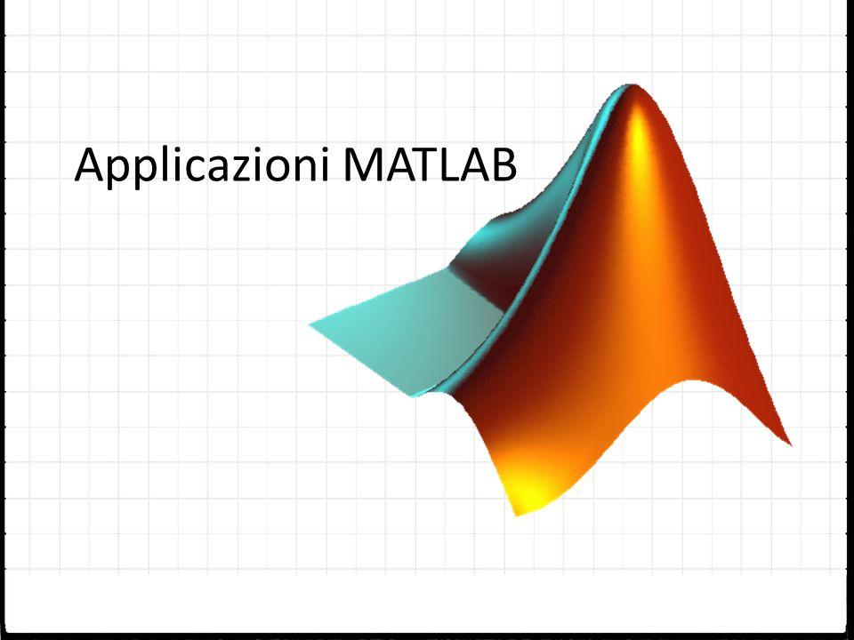 Applicazioni MATLAB