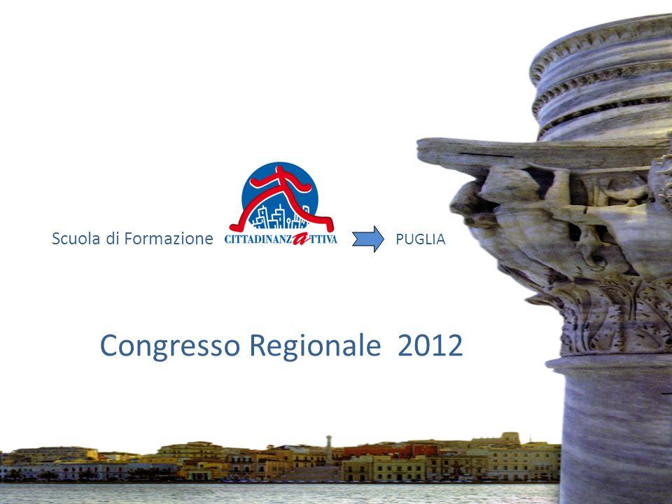 Scuola di Formazione PUGLIA Congresso Regionale 2012