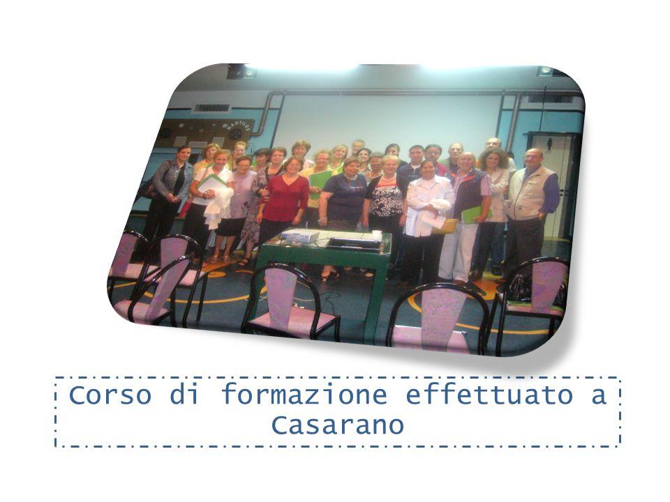 Corso di formazione effettuato a Casarano