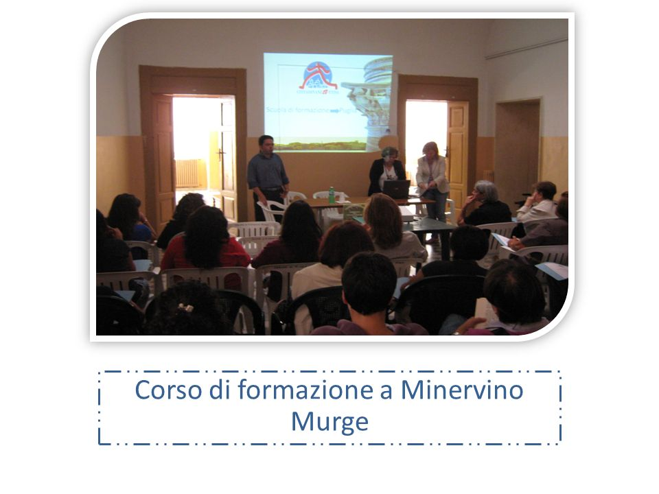 Corso di formazione a Minervino Murge