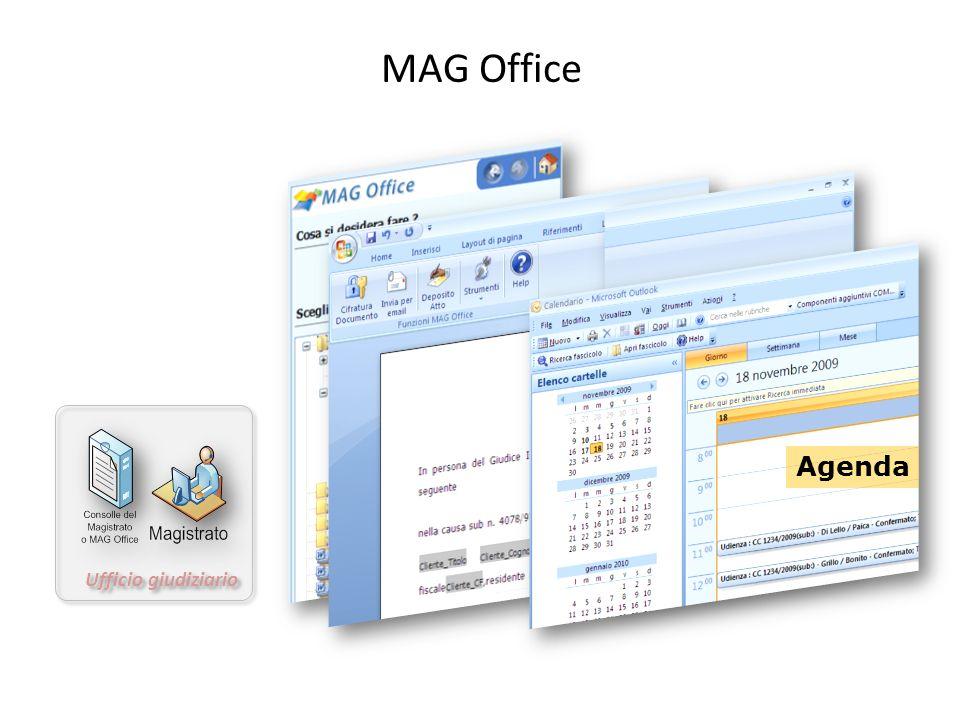 Ufficio giudiziario MAG Office Agenda